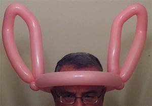 Pink Bunny Ears DALE THE BALLOON TWISTER