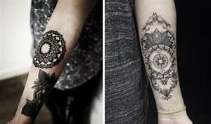 Tattoo Ganzer Arm Frau : tattoo auf unterarm 25 tolle ideen f r m nner und frauen ~ Frokenaadalensverden.com Haus und Dekorationen