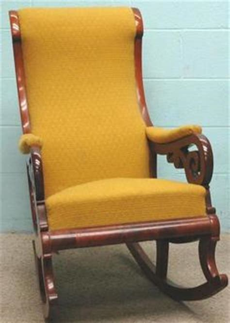furniture chair rocking rococo revival