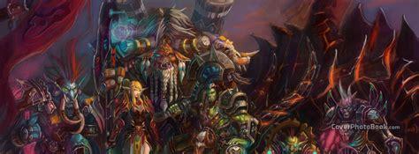 world  warcraft fan art facebook cover creative
