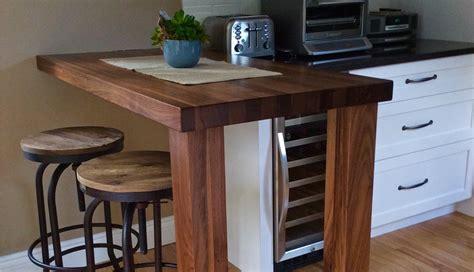 comptoir de cuisine en bois comptoirs en bois signature stéphane dion