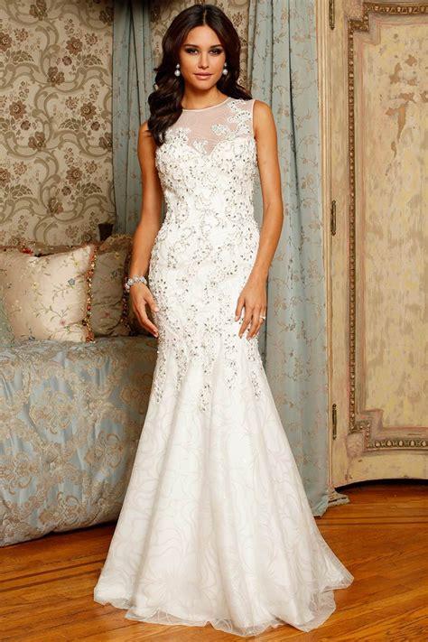 wedding dress for gorgeous sleeveless mermaid wedding dress sangmaestro