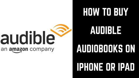 how to buy books on iphone how to buy audible books on iphone or