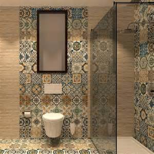 bathroom mosaic ideas nikea mix pattern tile set by yurtbay 20x20 cm ceramic