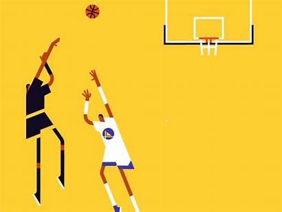 Dribbble Animation Radio Animated Basketball Sports Sport