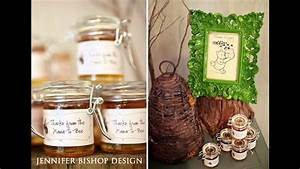 Winnie the pooh baby shower decorations ideas - YouTube