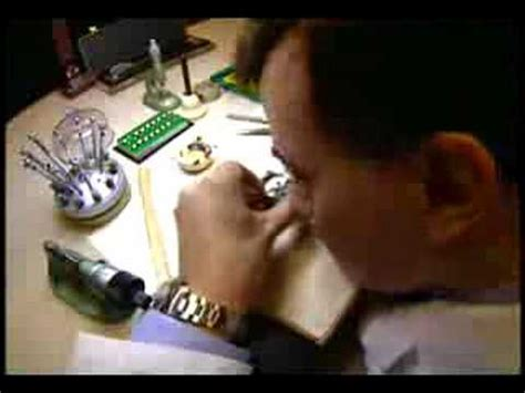 Rolex The Art Of Watch Making Youtube