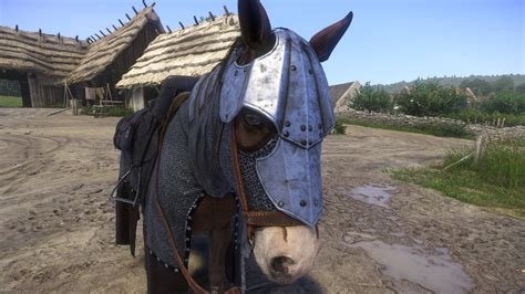 horse armor kingdom come deliverance mods mod head guide