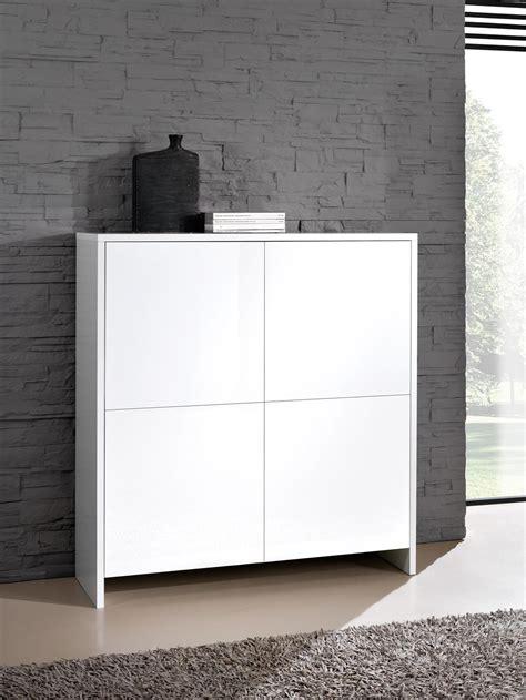 bureau scandinave alinea meubles rangement laque blanc
