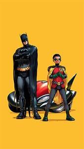 Batman and Robin iPhone 5 Wallpaper (640x1136)