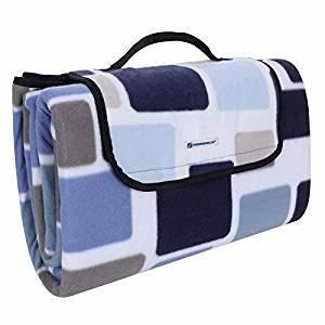 Picknickdecke 200 X 200 : songmics 200 x 200 cm xxl picknickdecke fleece w rmeisoliert wasserdicht mit tragegriff ~ Eleganceandgraceweddings.com Haus und Dekorationen