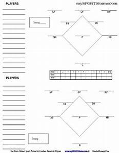 Baseball Lineup Sheet Free Download The Best Home