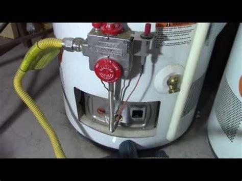 smell gas after lighting pilot how to relight a water heater pilot light