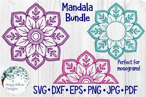 huge mandala bundle  designs sofontsy