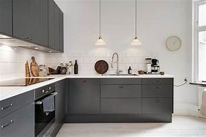 modern kitchen decor with cuisine charcoal gray kitchen With kitchen colors with white cabinets with charcoal wall art