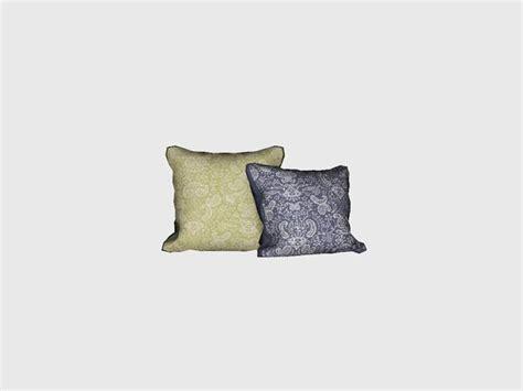 ungs bedroom juniper throw pillow  sims  cc