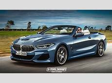 BMW 8 Series Rendered as Cabrio, Pickup, Gran Coupe and