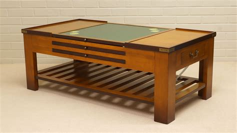 Questionboard game table features (self.boardgames). Cherrywood Game Coffee Table   GHShaw Ltd