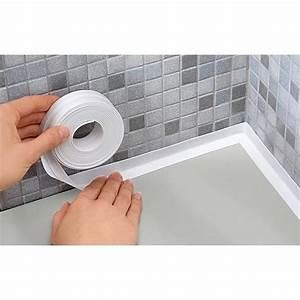 Etancheite Bac A Douche : ruban silicone d 39 tanch it baignoire mur achat vente ~ Premium-room.com Idées de Décoration