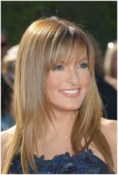 Layered Hairstyles With Bangs Front Fringe