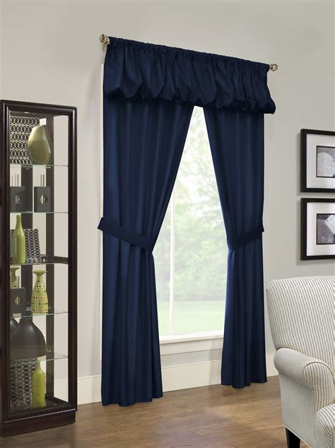 prescott insulated rod pocket curtain pair 8 colors and 2