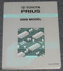 2009 Toyota Prius Electrical Wiring Diagram Service Manual
