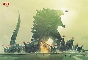New Art Shows How Much Bigger The New Godzilla Is Compared ...