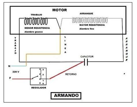 solucionado ventilador de techo cables al capacitor