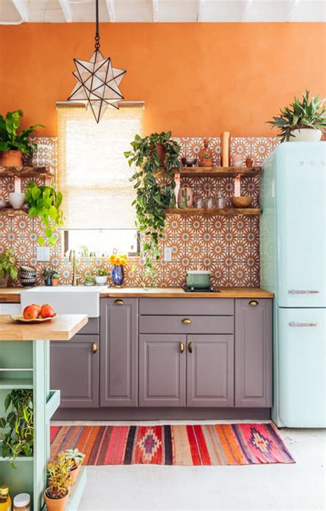 rooms  inspiration bohemian kitchen