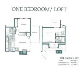 one bedroom floor plan condo styles at mountain springs resort