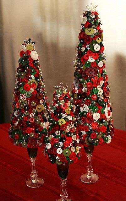 Neuman Christmas Trees by Button Trees Christmas Pinterest