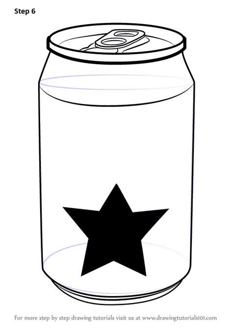 learn   draw  soda  everyday objects step