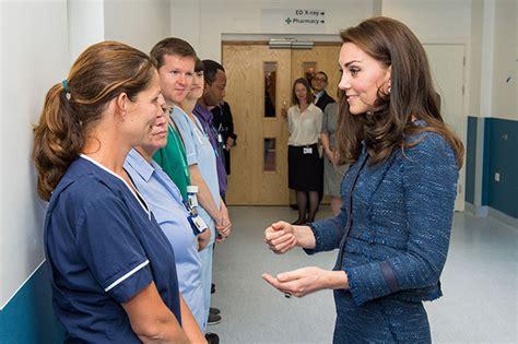 kate middleton visits victims  london terror attack