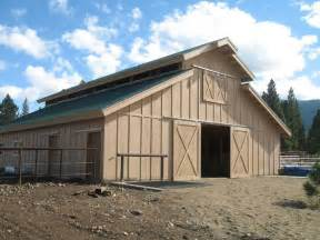 Photo Of Barn Roof Design Ideas by Pole Barn Roof Design Plans To Build A Firewood