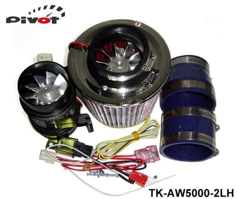 high quality supercharger kit electrical turbo charge 330w iron fan ebay
