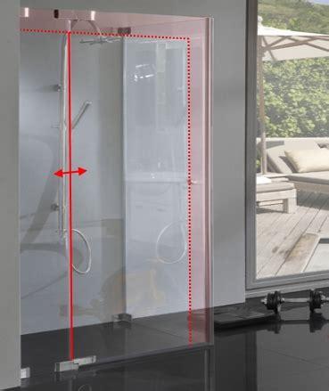 dusche mit pendeltür und seitenwand dusche glas sonderma 223 mit pendel dreht 252 r und seitenwand combia