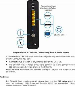 Ch6643 Cable Modem User Manual Ch6643  User Guide Black