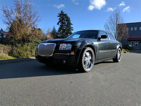Chrysler 300 Murdered Out by Blacked Out Chrysler 300 City