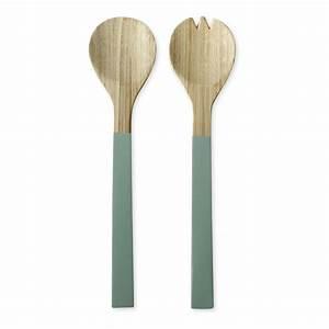 Couvert En Bambou : couverts salade en bambou bruno evrard ~ Teatrodelosmanantiales.com Idées de Décoration