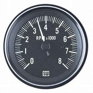 Stewart Warner 82171 Heavy Duty Tachometer  Electric  3