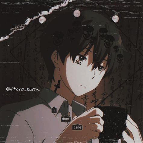 Aesthetic Dark Anime Girl Aesthetic Sad Profile Pictures