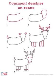 comment dessiner un renne cabane 224 id 233 es