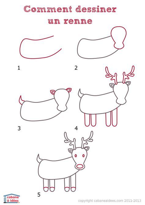 comment dessiner un ladaire comment dessiner un renne cabane 224 id 233 es
