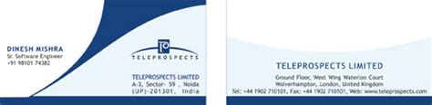 business card design noida delhi visiting card