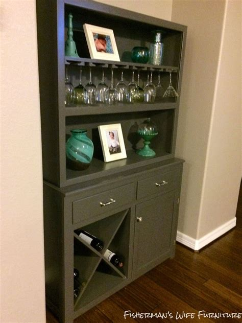 Bar Makeover by Hometalk Hutch To Wine Bar Makeover