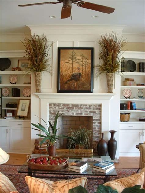 Country Living Room Ideas With Fireplace by Rainey Architects Home Plan Details Low