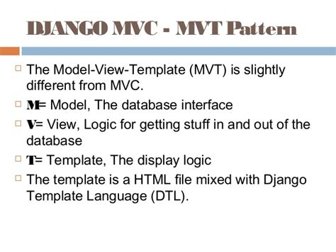Django Template Language by Django By Rj