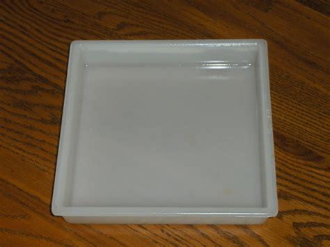 square light cover markstone milk glass square light cover vintage light