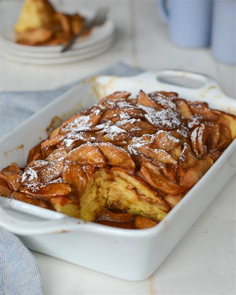 Baked Apple French Toast Once Upon Chef
