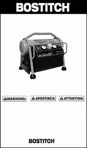 Bostitch Air Compressor Cap1512